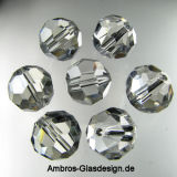 Kristall Perle Rund Ø 8mm Crystal VE 72