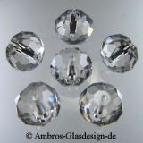 Kristallperle Rondelle 4*6mm Crystal~Klar VE100