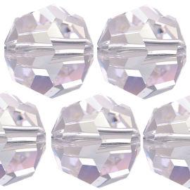 Kristall Perle Rund Ø 4mm Crystal VE 100