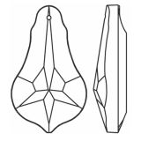 "Pendel ""Bergamo"" 63mm Clear Crystal 30% PbO"