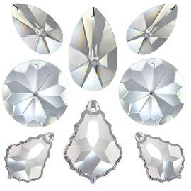 Kristall Set Feng Shui 8tlg. 38-50mm Crystal 30%PbO