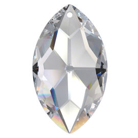 Kristall Oval 50*30mm Crystal K9