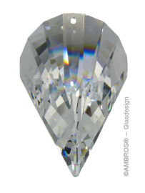 Swarovski® Crystal Oloid 50mm Clear
