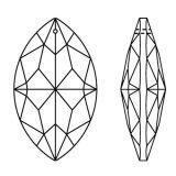 Kristall Oval 63mm Crystal K9