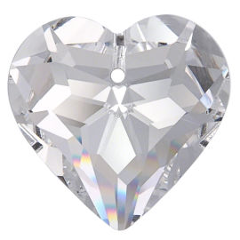 Kristall Herz 45mm Crystal K9