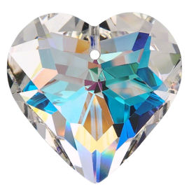 "Kristall ""Herz"" 45mm Crystal AB K9"