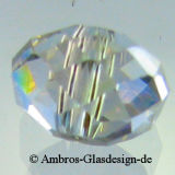 Kristallperle Rondelle 3*4mm Crystal AB~Klar VE150