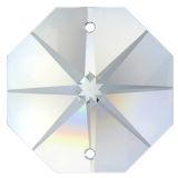 """6cm Kette ~ 3x """"Oktagon Stern"""" 14mm Crystal..."""