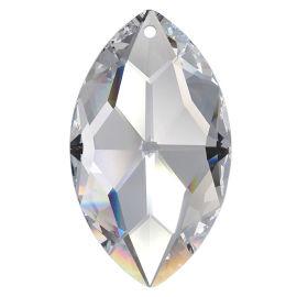 Kristall Oval 38*22mm Crystal K9