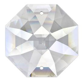 """Kristall """"Oktagon HQ"""" 14mm 2 Loch Crystal K9 VE35"""