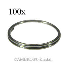 Ring Ø 10mm Chrom VE 100