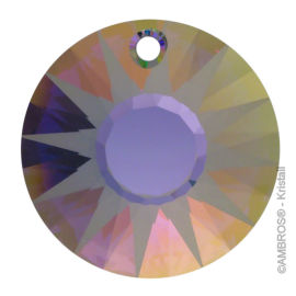 Swarovski® Crystal Sonne Satin Ø 19mm PS