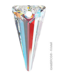 Swarovski® Crystal Spike 28 mm AB