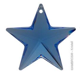 Swarovski® Crystal Stern Ø 28mm Sapphire ~ Blau