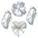 Kristall Set Swing 4tlg. 40-50mm Crystal 30% PbO