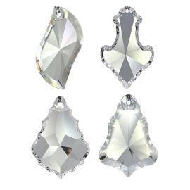 Kristall Set Pendel 4tlg. 50mm Crystal 30% PbO
