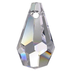 Kristall  Wiener Birnel 15mm Crystal K9 VE14
