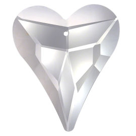 "Kristall ""Herz-Lang"" 68mm Crystal K9"