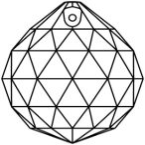 Kristall Kugel Ø 70mm Crystal 30%PbO