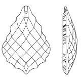 Kristall Verona 50mm Crystal 30% PbO