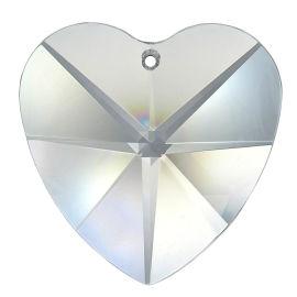 "Kristall ""Herz"" 28/40mm Crystal 30%PbO"