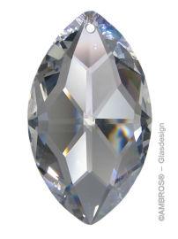 Swarovski® Crystal Oval 38mm Clear