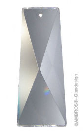 Kristall Schiefstein 52mm Crystal 30% PbO