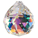 "Kristall ""Kugel"" Ø 40mm Crystal AB 30%PbO"