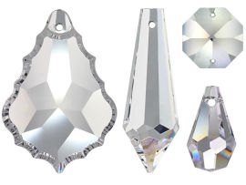 Lüsterbehang Kristall Set 106 tlg.