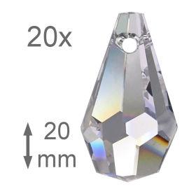 106 tlg Feng Shui/Lüsterbehang Regenbogen Kristall Set