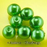 Runde Glas Perle / Wachsüberzug Ø 4mm...