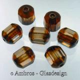 Glas Perle Antik Marmor / Schliffkranz Ø 10mm Sm....