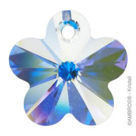 Swarovski® Crystal Flower Ø 18mm AB-A