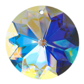 "Kristall ""Rivoli"" Ø 40mm Crystal AB 30% PbO"