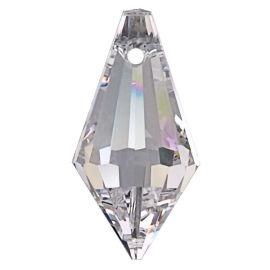 Kristall  Wiener Spitze 20mm Crystal 30%PbO VE10
