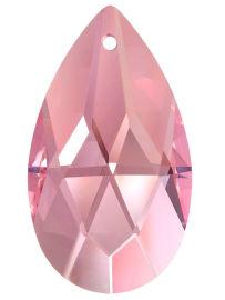 """Kristall """"Salzburger Mandel"""" 38mm Rosalin ~ Rose, Pink K9"""