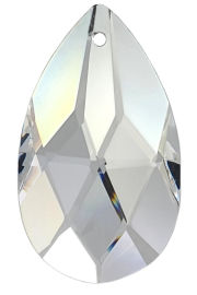 Kristall Salzburger Mandel 38mm Crystal 30% PbO