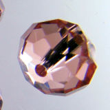 Kristallperle Rondelle 6*8mm Rosalin ~ Rose VE 72